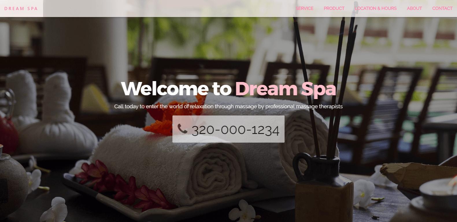 spa site example by Saranya Moellers